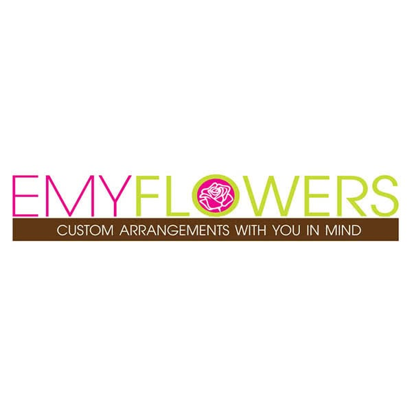 EMY Flowers Logo Design and Website Design