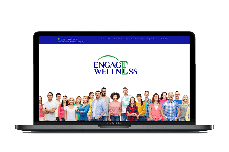 Engage Wellness Website Design