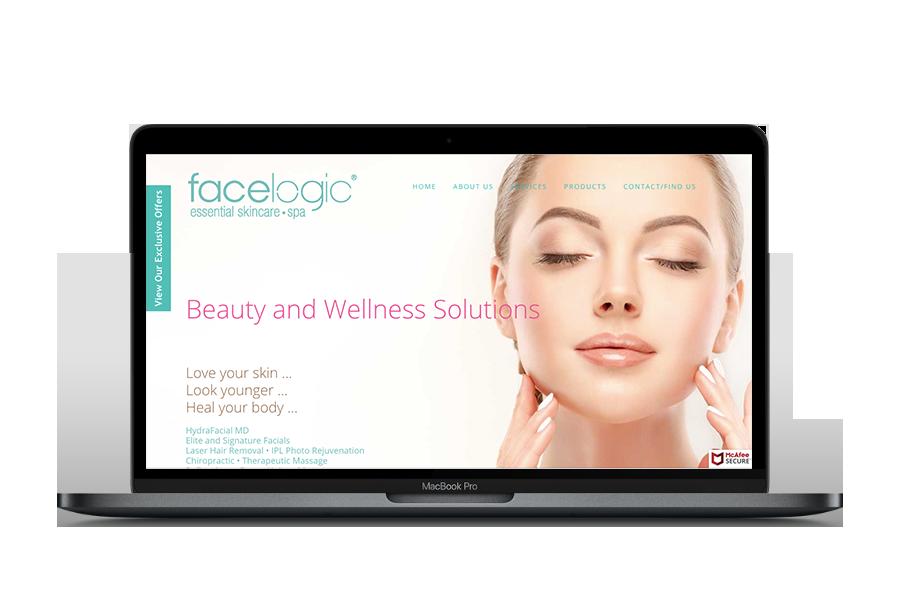 Facelogic Mt Kisco Website Re-Design