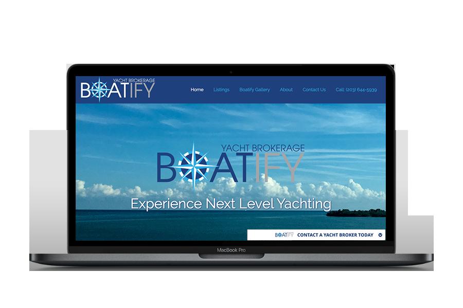 Boatify US Website Design