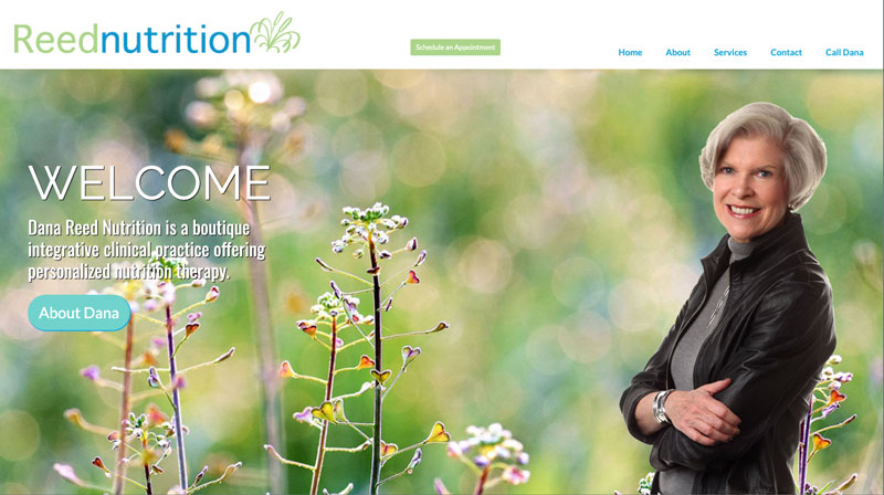 Suncoast Website Design for Reed Nutrition in NYC
