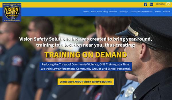 Suncoast Website Design for Vision Safety Solutions