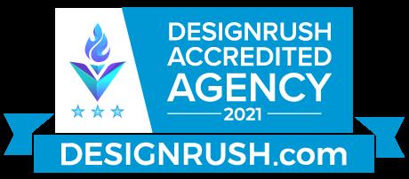DesignRush Accredited Badge
